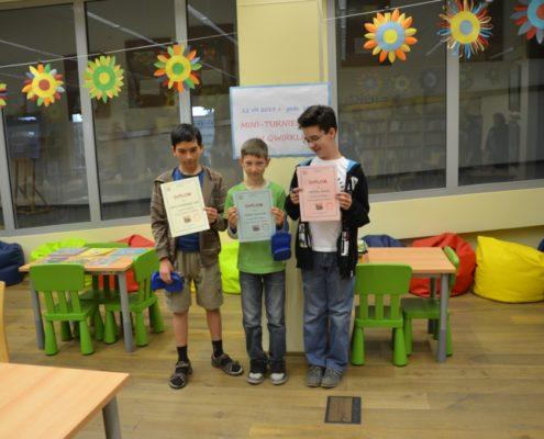 Zwycięzcy - Marek, Kuba, Joachim