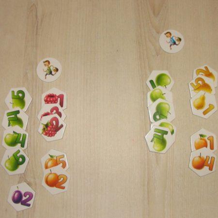 Przykładowy zbiór owoców