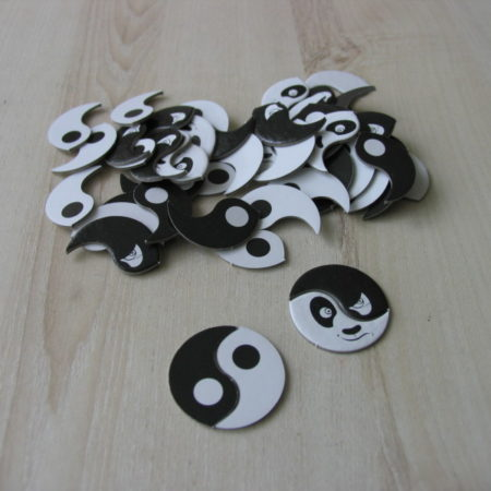 Żetony ying-yang aka ping-pang
