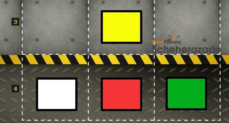 Kolejność ułożenia figur wg kolorów