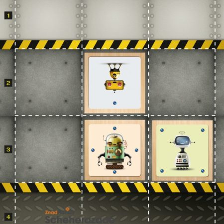 Kto zbije małego żółtego robota?