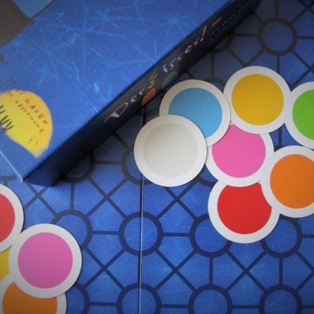 Karty do oznaczania wybranego koloru na początku rundy