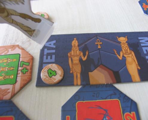 Gdy mumia mija metę można zdobyć dodatkowe punkty