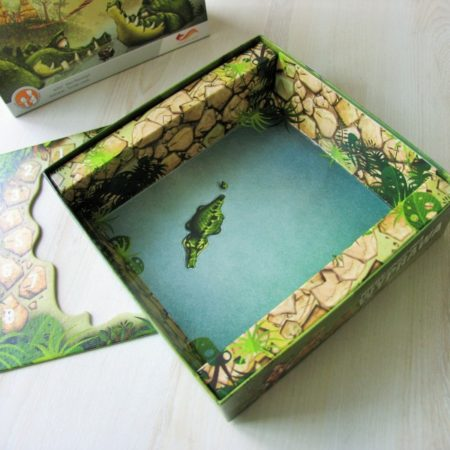Piękne wnętrze pudełka